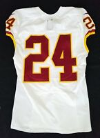 #24 of Washington Redskins NFL Locker Room Game Issued Worn No Nameplate Jersey