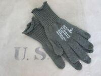 Original US Army GI Genuine Issue Woll Handschuhe Finger Gloves T-2 WW2 WK2 Gr 4