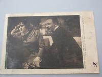 Postkarte Vintage Johnson Oberdan Anfang Der 900, Feldpost