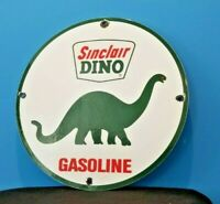 VINTAGE SINCLAIR GASOLINE PORCELAIN GAS MOTOR OIL SERVICE STATION PUMP SIGN