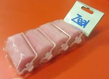 LARGE PINK SPONGE HAIR ROLLERS BARGAIN  EXCELLENT QUALITY