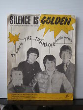 THE TREMELOES Silence Is Golden SHEET MUSIC Free UK Post