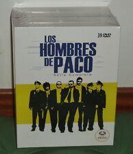 LOS HOMBRES DE PACO SERIE COMPLETA 1-9 TEMPORADAS 39 DVD NUEVO PRECINTADO R2