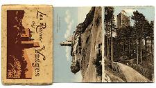 Elsaß Vogesen Ritter Burgen Ruinen Postkarten Leoporello Serie 1920