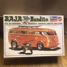 VINTAGE 1970' MONOGRAM BAJA BANDITO VW PANEL IN OPENED ORIGINAL BOX