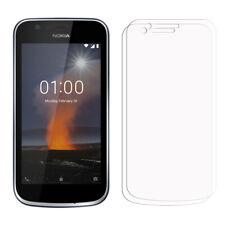 2 X Nokia 1 Protectores de Pantalla Para Teléfono Móvil - Brillo Funda