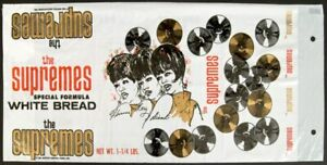 The Supremes   Motown 1966 HITSVILLE BREAD WRAPPER-