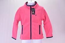 Toddler Girl's Nautica Zip up Super Soft Polar Fleece Jacket, Pink