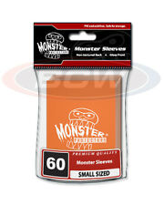 Yugioh Monster Protector ORANGE LOGO Glossy Non-Textured Deck Protectors/Sleeves