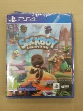 Sackboy A Big Adventure PS4 PlayStation 4 PS5 Brand New Sealed top of case smash