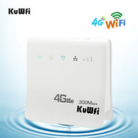 4G LTE CPE Wifi Routers Mobile Hotspots Wireless Broadband Router with LAN Port