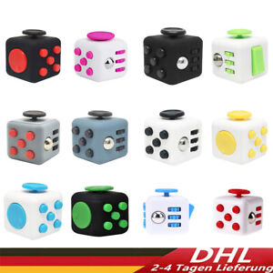 Fidget Cube Anti Stress Würfel Magic Entspannung Meditadion Spielzeug DE