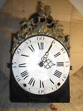 comtoise XVII éme coq dans son jus,mouvement,pendule,horloge,mécanisme