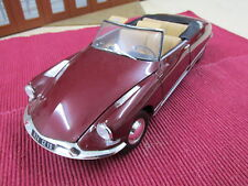 NOREV 1:18 181561 CITROEN DS 19 Convertible, rouge rubis