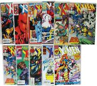LOT Of 11 VTG 90s 00s X-MEN COMIC BOOKS Mutant Uncanny Marvel Wolverine Magneto