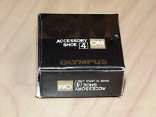 OLYMPUS OM ACCESSORY SHOE 4 FOR OM-1N OM-2N NEW IN BOX