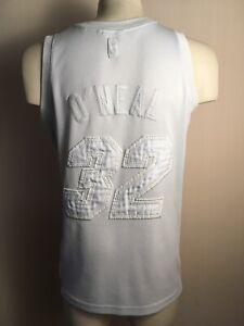 Miami Heat  O'neal #32 WHITE NBA Finals Jersey Basketball usa champion ONEAL