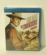 The Comancheros (Blu-ray Disc, 2011, Canadian) NEW AUTHENTIC REGION A John Wayne
