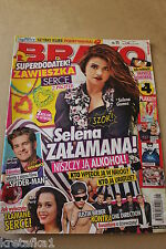 Bravo 11/2014 Selena Gomez,Andrew Garfield,One Direction,Justin Bieber,Lorde