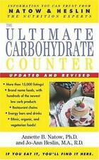 The Ultimate Carbohydrate Counter by Heslin, Jo-Ann, Natow, Annette B., Good Boo