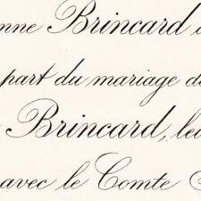 Anne Marie Brincard La Bizoliere La Possonniere 1886 Arnaud De Gramont De Coigny