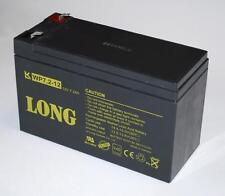 4 x Long Blei Gel-Akku 12V 7,2Ah VdS-Zul WP7.2-12 USV