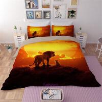 The Lion King Doona Duvet Quilt Cover Set Single/Double/Queen/King Bed Linen