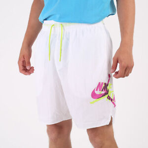 N Jordan Nike Air Jumpman Shorts weiß Basketball Pool Schwimmen Freizeit Sommer Shorts