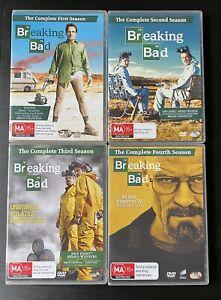 Breaking Bad Seasons 1-4 DVD