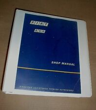 Fiat 850 FACTORY SHOP SERVICE MANUAL All Models 817 843 903 Spider Coupe Sedan