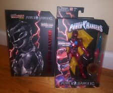Power Rangers Legacy Movie Red Ranger NYCC Comic Con Exclusive Movie Figure Toy