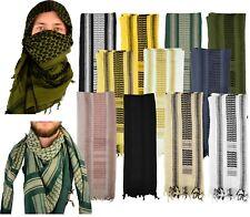 "Mato & Hash JUMBO Military Shemagh 100% Cotton Desert Keffiyeh Scarf Wrap 75X38"""