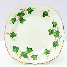 Vintage Colclough Ivy Hoja Placa De Té De Porcelana China.