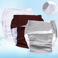 New Teen / Adult Washable Reusable Incontinence Cloth Diaper Pants Nappy Briefs