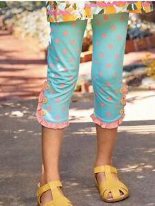 NWTIB Girls Matilda Jane Lots Of Dots Leggings Size 8 SO CUTE!