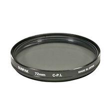 Sunpak Pictures Plus 72mm C-POL Circular Polarizer Filter NEW