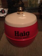 More details for haig scotch whisky insulex made in england ice bucket cooler advertising red