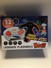 Legends Flashback Blast! Space Invaders BurgerTime 12 Games Plug & Play BNIB