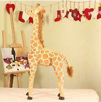 96CM Big Plush Giraffe Toy Doll Giant Large Stuffed Animals Soft Doll Xmas Gift