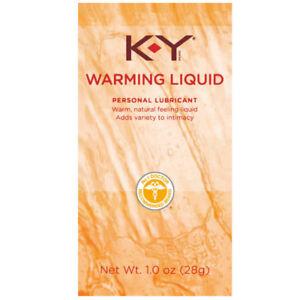 KY Warming Liquid, Personal Lubricant, Warm Natural Feeling, 1 oz