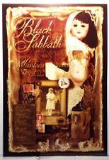 BLACK SABBATH/5 SHOWS#209/1999/NEVER ROLLED/CONCERT POSTER/PANTERA