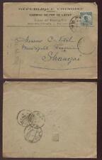 La Chine 1917 annonce imprimé couverture.. ligne TCHENG tai... Shanghai