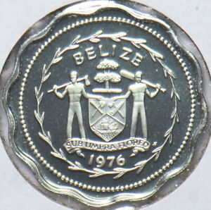 Belize 1976 Cent Swallow-tailed Kite animal Proof 192843 combine shipping