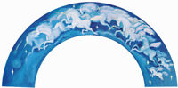 POSTER : FANTASY : HERD OF UNICORNS - ARCH SHAPED - FREE SHIPPING ! RC13 - TOP