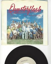 """45- QUARTERFLASH- """"TAKE ANOTHER PICTURE""""/ """"ONE MORE ROUND TO GO""""- W/PIC- N. MINT"""
