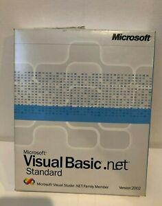 MICROSOFT VISUAL BASIC.NET Standard Version 2002 Complete Software