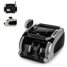 Professional Automatic Cash Counting Machine Money Counter Currency Bank Sorter
