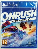 On Rush Day one edition - PS4 - Neuf sous blister - PAL