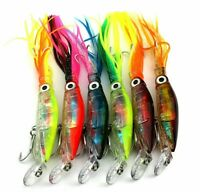 6 x ZORI SQUID SKIRTS TROLLING BAIT HARDBODY FISHING LURE TUNA MARLIN KINGFISH
