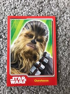 Topps Star Wars - Journey To Star Wars The Force Awakens Chewbacca #149